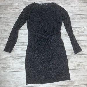 Athleta Long Sleeved Gray Dress Size Small